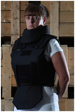 Police Body Armour with groin and throat guard